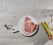 BEAUGRAIN, les viandes bien élevées - Côte de Porc Bio d'Auvergne par 2