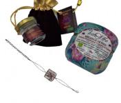 Le safran - l'or rouge des Ardennes - Un cadeau unique : un bijou, du thé et l'épice de bonheur...