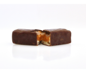 Sÿba - Glaces végétales - Coffret De 4 Barres Glacées |cacahuète Caramel Chocolat