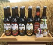 L'Eurélienne - Brasserie de Chandres - Lot Apéro : 11 Bières L'Eurélienne 33cl + 3 Tartinades de Légumes Artisanales