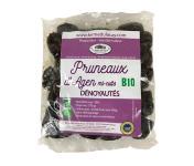 Ferme du Lacay - Pack De 10 Sachets De Pruneaux D'agen denoyautés Mi-cuit Bio 375g