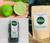 Spiruline des Oliviers - Coffret Spiruline en Poudre & Citrons Verts Bio
