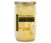 Conserves Guintrand - Demi Poires Williams De Provence Au Sirop - Yr - Bocal 720ml