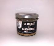 Conserverie Artisanale du Trégor - Rillettes de St Jacques et Langoustines