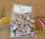 L'escargotière BONVALOT - 2 Douzaines d'Escargots Surgelés en Coquille au Beurre d'Ail et de Persil