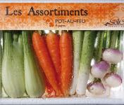 Maison Sales - Végétaux d'Art Culinaire - Assortiment Pot Au Feu - 20 Pièces