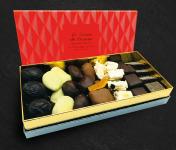 Maison du Pruneau - Cueillette du Gascon - Assortiment Pâques Et Fêtes Pruneaux Et Chocolats - Coffret Élégance 450g