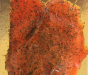 Pisciculture des eaux de l'Inval - Truite Séchée Tranchée 120 Gr Aneth