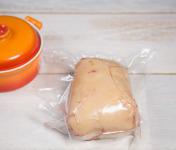Ferme de Pleinefage - Foie Gras de Canard Cru Extra non déveiné 600 g (pour poêler ou à déveiner soi-même)