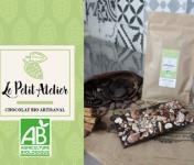 Le Petit Atelier - Tablette Chocolat Noir Et Amandes Caramélisées