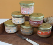 Ferme du Bois de Boulle - Assortiment de 4 pâtés de lapin et 2 rillettes