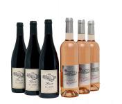 Domaine Gilbert Jambon - Coffret 3 Beaujolais Villages Rosé 2018, 3 Aoc Fleurie Beaujolais 2018 (6x75cl)