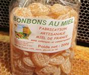 Miel et Pollen - Bonbons Pastilles de Miel 200g