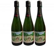 Champagne J. Martin et Fille - Cuvée des Amoureux de Peynet Brut Tradition - 3x75cl