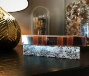 L'AMBR'1 Caramels et Gourmandises - Assortiment De Pâtes De Fruits - Réglette De 110g