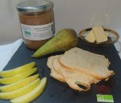 La Ferme du Montet - Compote de Pommes Poires  sans sucre ajouté BIO - 420 g