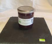 La Ferme du Montet - Compote Pomme Mûres allégée en sucre BIO - 420 g