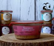 La Bourriche aux Appétits - Terrine de Saumon aux Baies Roses