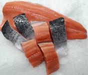 AQUADIS NATURELLEMENT - 4 Pavés De Saumon Avec Peau Sans Arêtes