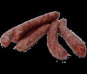 Ferme de Montchervet - Petites saucisses de boeuf x 4, 300g