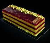 Philippe Segond MOF Pâtissier-Confiseur - Gâteau Framboise-pistache Sans Gluten