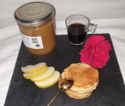 La Ferme du Montet - Compote de Pommes allégée en sucre BIO - 420 g