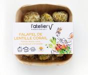 L'Atelier V* - Falafels de lentille corail, patate douce,  coco, coriandre et citronnelle