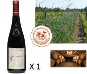 Le Clos des Motèles - AOC Anjou Rouge 2017 : Cuvée Sainte-Verge (1 Bouteille)