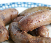 La ferme d'Enjacquet - Saucisses de Porc Confites à la Graisse de Canard x4