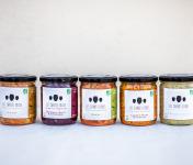 Les Jarres Crues - Lot de 5 Pots de 400 g de Légumes BIO Lacto-Fermentés