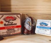 La Ferme du Château Courbet - Panier Découverte : Maroilles Sorbais, Boulette D'Avesnes Au Paprika Et Vieux Lille