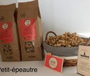 Du bio dans l'assiette - Pâtes Artisanales Petit Épeautre Bio 400gr