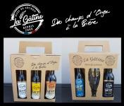 La Gâtine - Coffret Cadeaux: 2 coffrets de bières artisanales à offrir + verre offert