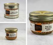 """Terres d'Adour - Colis Gourmand """"Le Chalossais"""" : Foie Gras, Demi canard confit et Pâté au foie gras"""