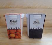 La Ferme du Logis - Assortiment de sorbets Plein Fruit : Abricot et Mûre