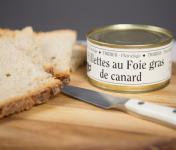 Ferme de Pleinefage - Rillettes Au Foie Gras De Canard 190g X10