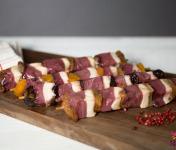 Ferme de Pleinefage - Brochettes de canard aux fruits x4