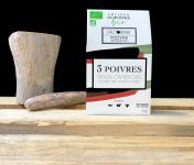 Cafés Factorerie - Mélange 3 POIVRES BIO - 100g En Grain