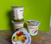 Ferme Chambon - Yaourts Au Lait Cru Et Aux Fruits (mangue-passion) X12