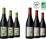 Domaine Les Combes Cachées - Coffret Vins d'Été et de Plaisir: 3 Minervois Rouge 2019 + 3 Viognier 2019