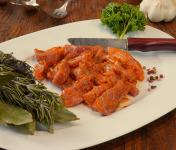 La Ferme du Chaudron - Emincé de Porc BIO Mariné - 500 g