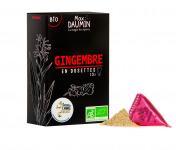 Epices Max Daumin - Gingembre Bio - Boite de dix dosettes