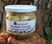 L'escargotière BONVALOT - Cassolette d'Escargot au Savagnin et aux Noisettes