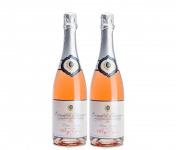 Domaine Tupinier Philippe - 2 Bouteilles De Crémant De Bourgogne Rosé