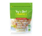 Choucroute André Laurent - Légumes Lacto-Fermentés : Chou - Carotte - Poivron - Piment - Ail - Gingembre