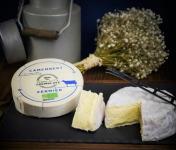 Ferme de La Tremblaye - Camembert Fermier Bio Au Lait Cru 275g