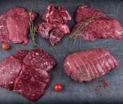 La Ferme du Forez - Colis de Viande  de Boeuf Charolais (Génisse) - 3kg