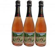 Champagne J. Martin et Fille - Cuvée des Amoureux de Peynet Brut Rosé - 3x75cl