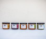 Les Jarres Crues - Lot de 5 Pots de 220 g Légumes BIO Lacto-Fermentés