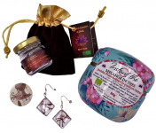 Le safran - l'or rouge des Ardennes - Spécial fêtes des mères : un bijou, du thé et l'épice de bonheur...